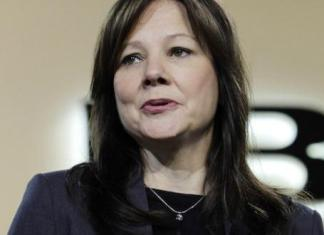 Mary Barra will become the new chief executive of GM on Jan. 15, 2014.