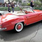 Vintage Mercedes-Benz on display at Monterey Auto Week