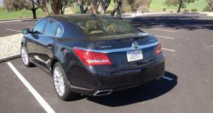 The 2015 Buick LaCrosse has more upscale design