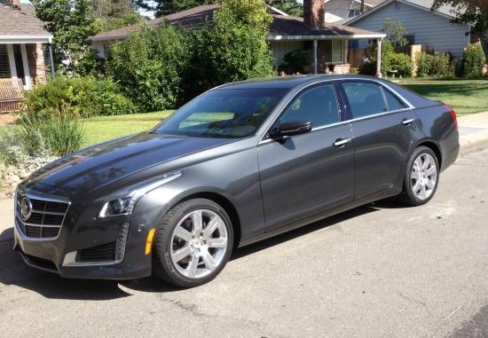 Despite is substantial length, the 2014 Cadillac CTS has difficult to enter and exit front seats.