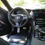The interior comfort of the 2014 Cadillac CTS complements the console design.