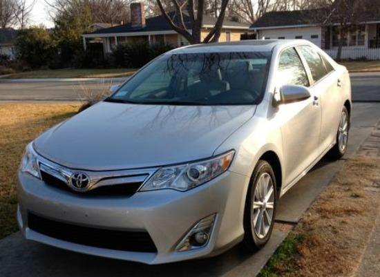 The 2014 Toyota Camry has a clean, conservative exterior.