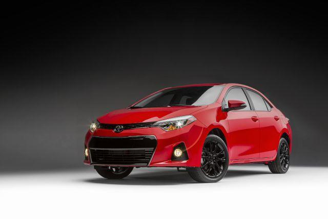 """The 2016 Toyota Corolla will include a Special Edition trim with a """"sporty"""" theme."""