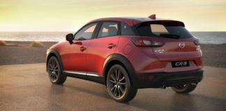 The 2016 Mazda CX-3 has a base price of less than $20,000.
