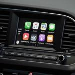 The 2017 Hyundai Elantra has an intuitive navigation system.