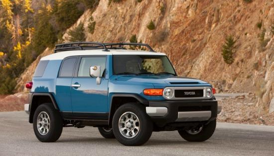 Toyota in cancelling FJ Cruiser in id-2014.