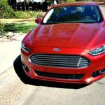 The 2013 Ford Fusion has a new front grille.