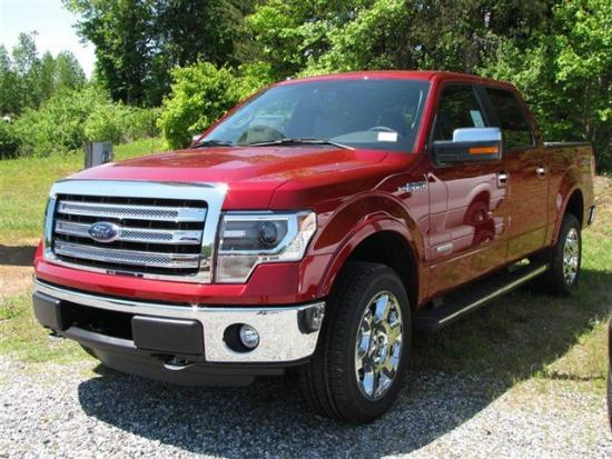 The Ford F-150 pickup and its siblings combined as the best-selling vehicle in the U.S. in 2013.