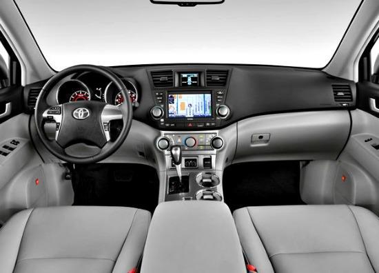 The 2013 Toyota Highlander has a spacious interior