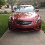 The 2014 Infiniti Q60 attracts a lot of attention on the road.