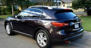 The 2014 Infiniti QX70 is newly named and still plush.