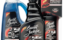 Barrett-Jackson has introduced a new line of care care products.