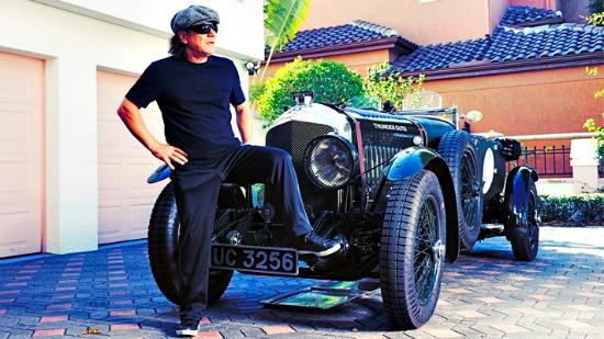Brian Johnson, the lead singer of AC/DC will host a new vintage car show.