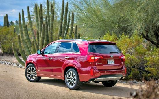 Kia Sorento, 2014: Crossover SUV adds style, power, now bigger contender