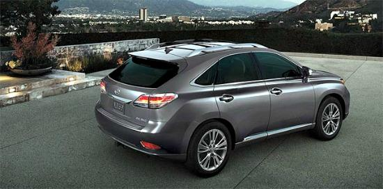 The 2014 Lexus RX 450h is an ideal luxury family vehicle.