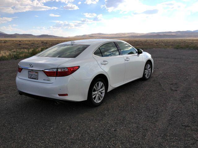 2015 Lexus ES 350: Perfect sedan for a 2,000-mile desert trek