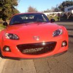 2014 Mazda MX-5 Miata: Smiling grille.