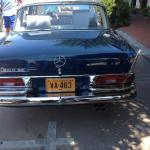 A 1964 Mercedes-Benz sedan at the Concours on the Avenue.