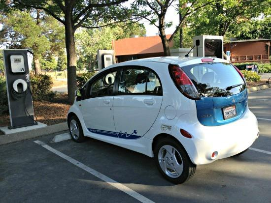 The Mitsubishi miev electric provided a lot of drivers' range anxiety.
