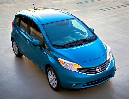 Nissan's new Versa Note hatchback