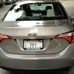 The newly designed 2014 Toyota Corolla.