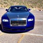 The 2014 Rolls Royce Wraith two-tone option.