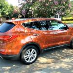 The 2013 Hyundai Santa Fe has been redesigned.