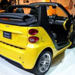 New convertible Smart Fortwo