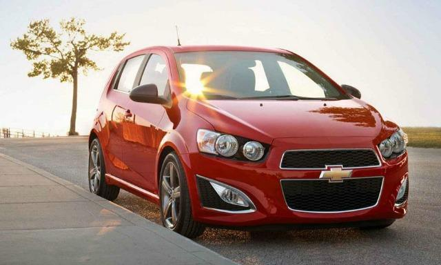 The Chevrolet Sonic is among the latest General Motors' recalls.