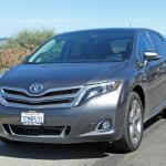 The 2014 Toyota Venza has impressive acceleration.