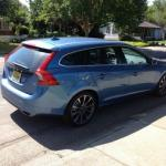 Check out the new tail lights in the 2015 Volvo V60 T5.
