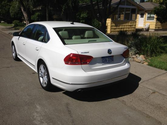 The 2014 Volkswagen Passat has a compact exterior and spacious interior.