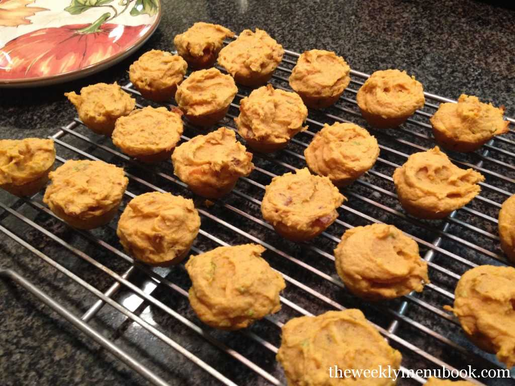 Sweet Potato Casserole Muffins - Gluten-free