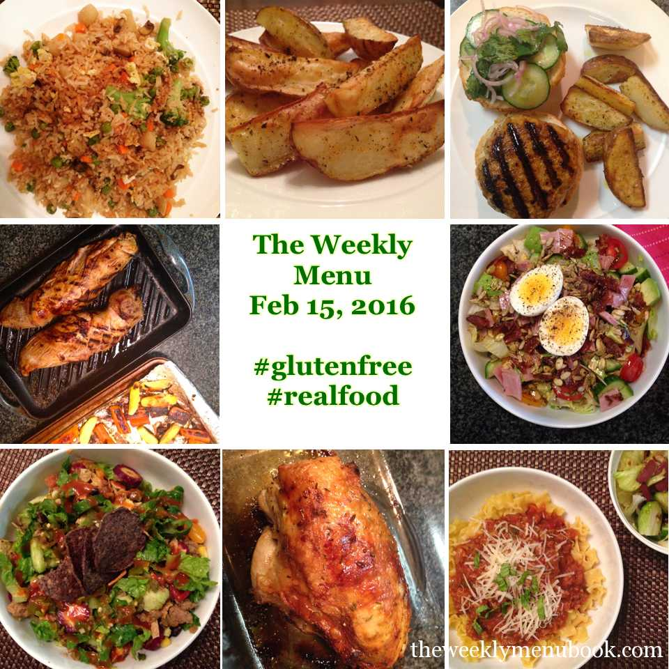 The Weekly Menu Feb 15