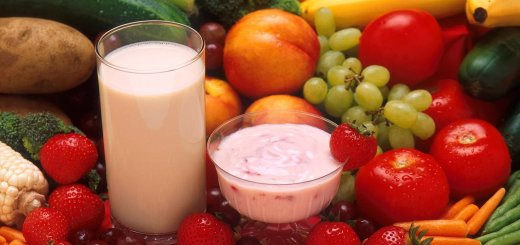 Yogurt-Milk-Vegetables-Fruits-Plants-Flora
