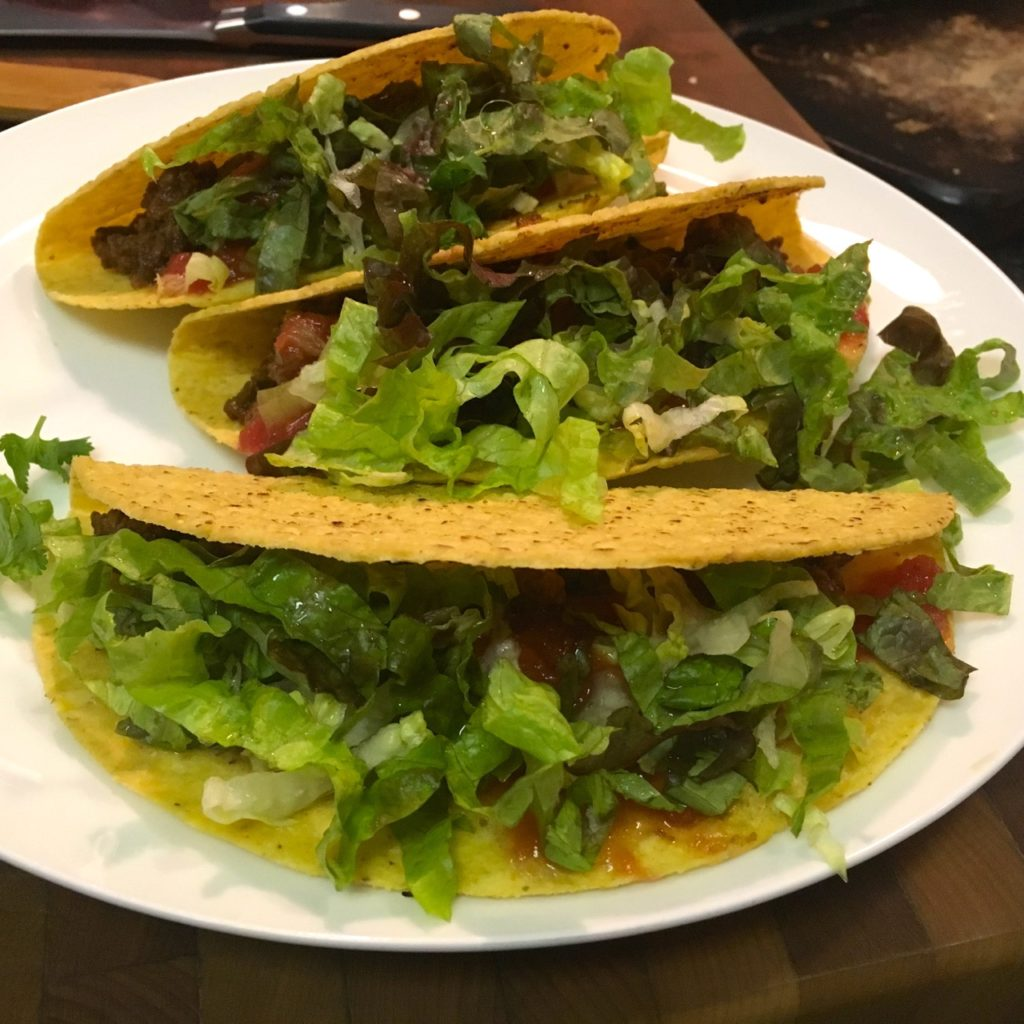 Gluten-Free, Dairy-Free Clean Eating Bison Tacos with Peppers