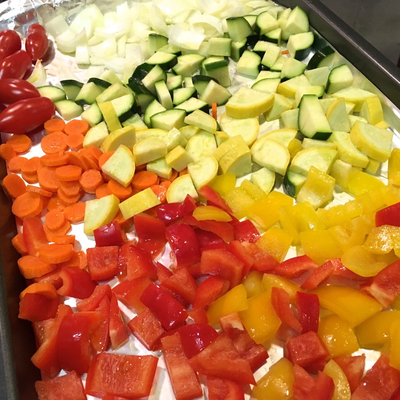 Italian Oven-Roasted Vegetables, Gluten-Free, Dairy-Free