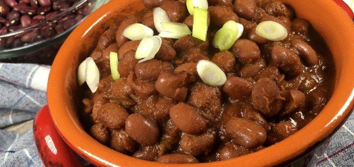 homemade gluten-free ranch style beans