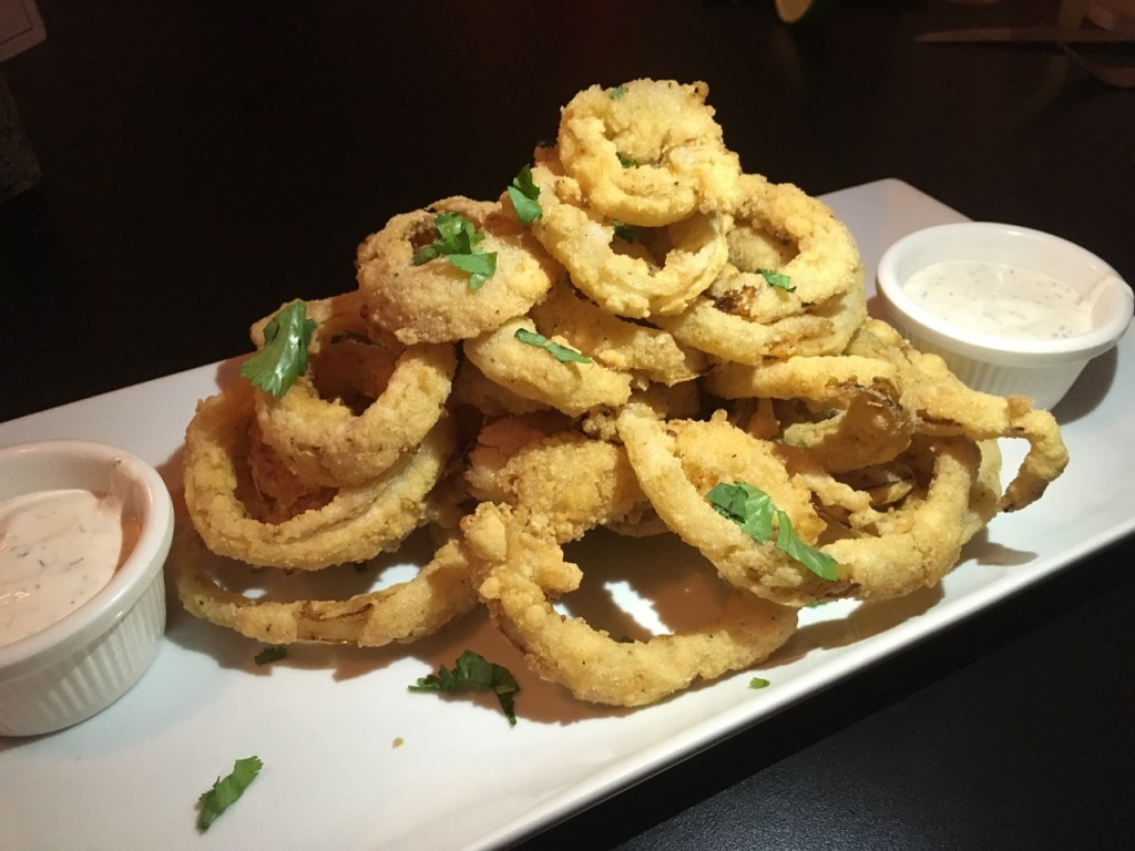 gluten-free onion rings at wilder wood