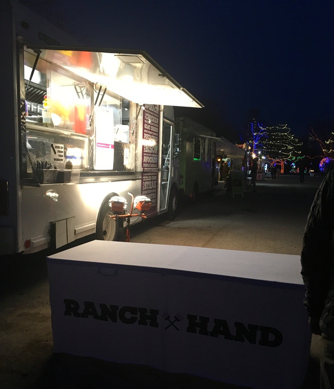 Ranch Hand food truck has gluten-free food Austin Trail of Lights 2018