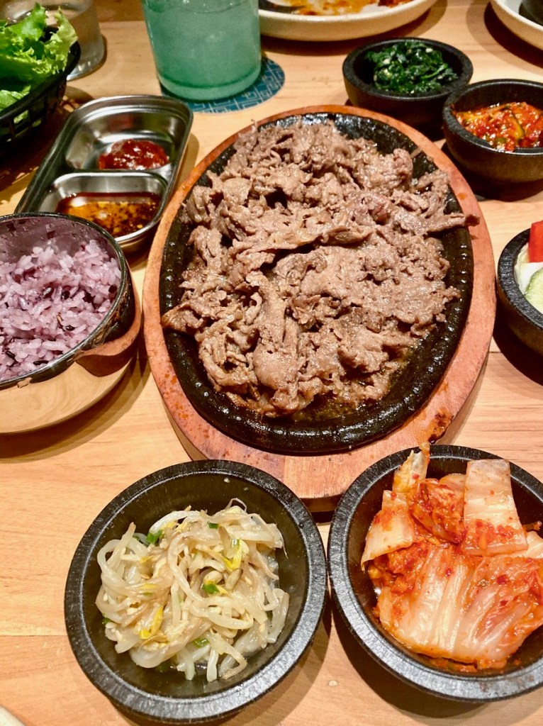 Austin gluten-free restaurants - Korean Bulgogi at Oseyo