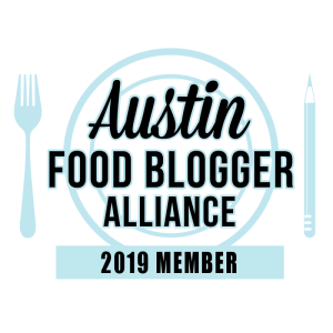 Austin Food Blogger Alliance 2019 Member Badge