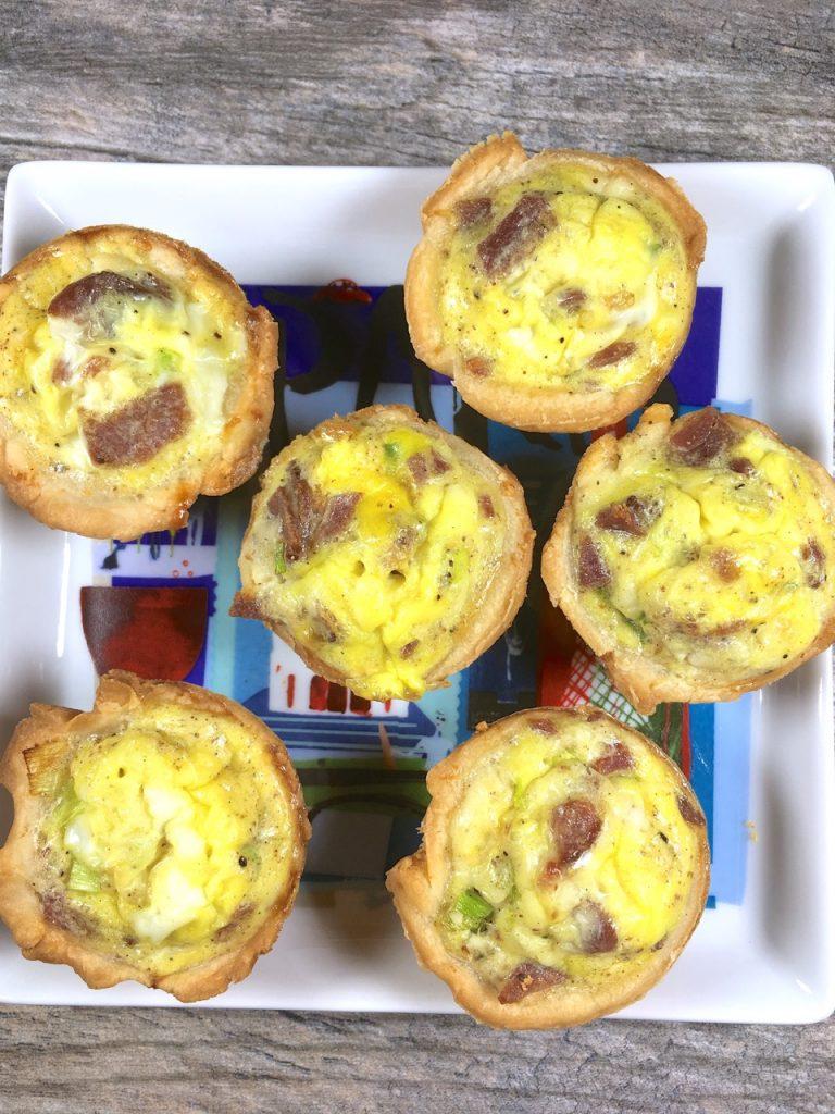 Gluten-Free Mini Quiche Lorraine