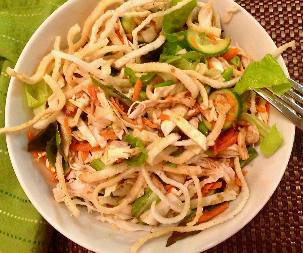 Gluten-free, Dairy-Free Asian Chicken Salad