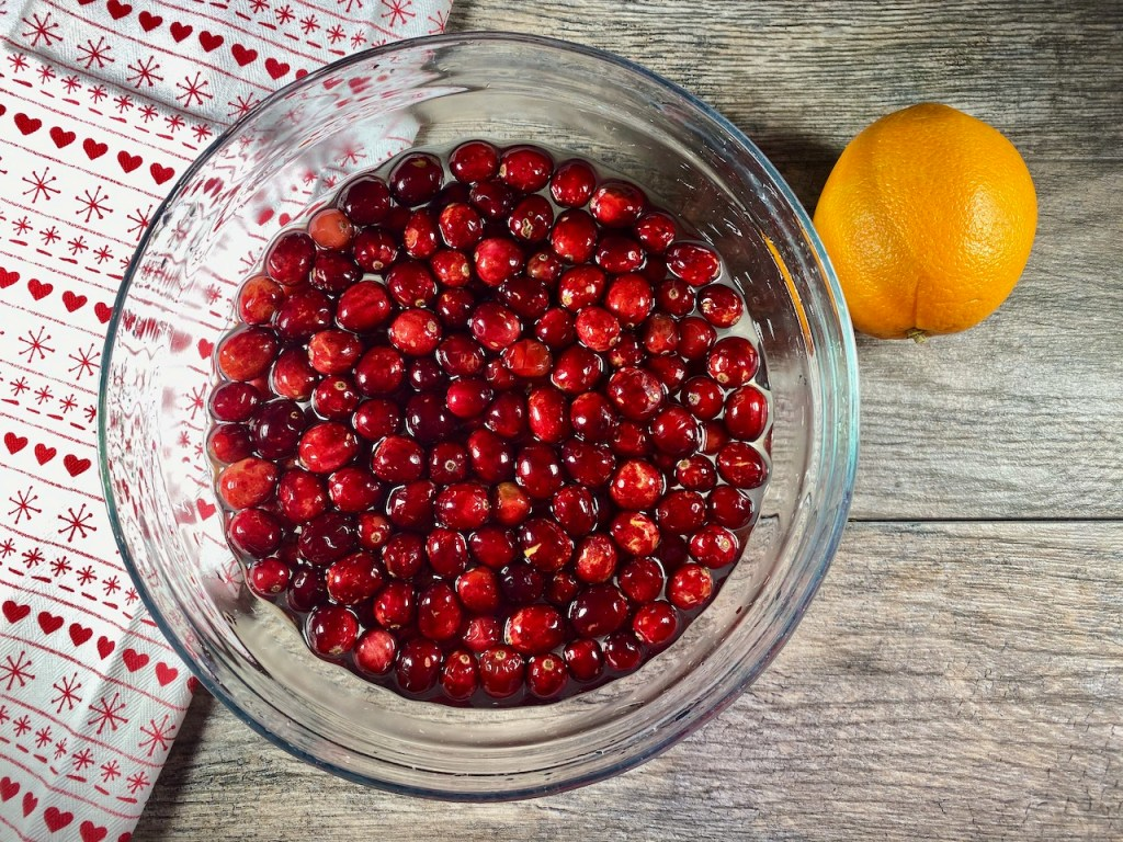 Homemade Cranberry Sauce recipe is part of the Gluten-Free Thanksgiving Menu Plan
