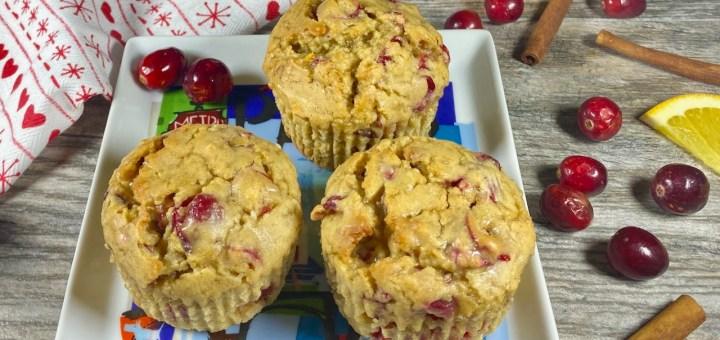 The best cranberry orange muffins