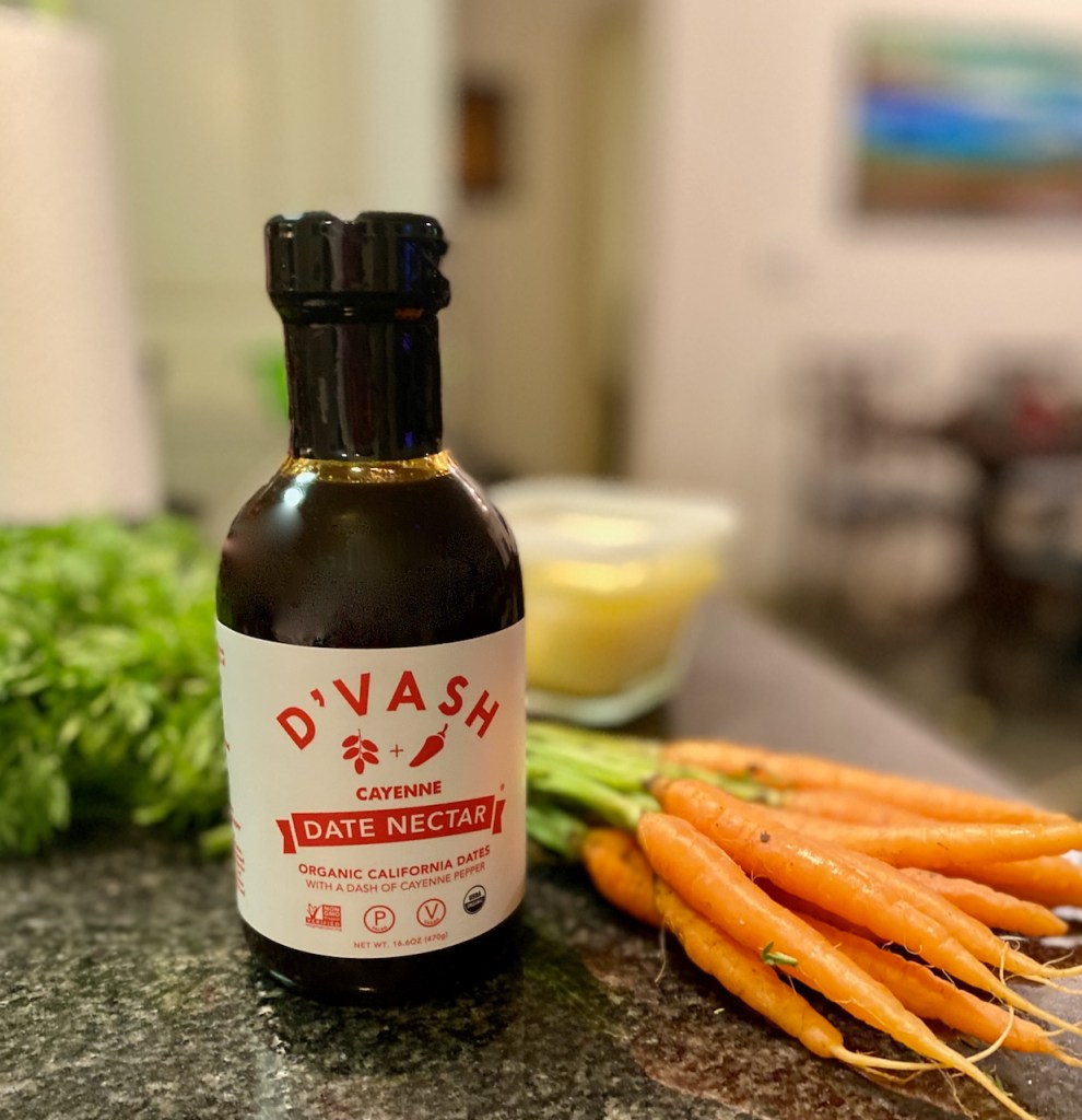 Cayenne Date Nectar with Small Organic Carrots
