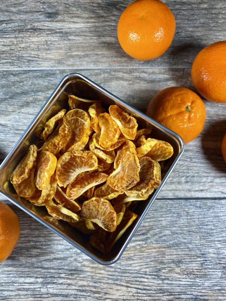 Dehydrated Organic Mandarin Oranges