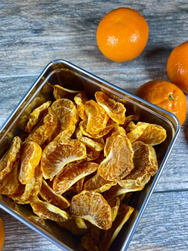 Dehydrated Mandarin Oranges
