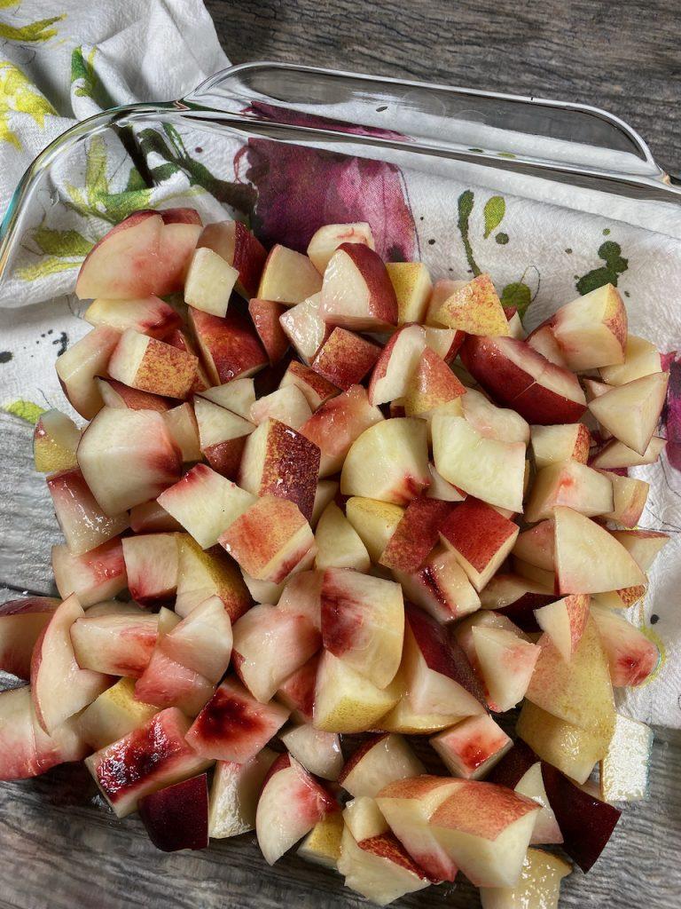 Prepare the Nectarine Fruit